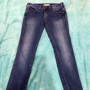 Free People Shinny Jeans -sz 24 - HOT